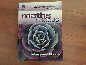 Brand new maths in focus textbook Hornsby Hornsby Area Preview