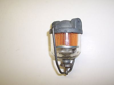 Fuel Filter,High Dome, Glass Bowl, sm AC - 1953 thru 58 Chevy & Others - AC GF48