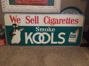Kool Cigarette Sign