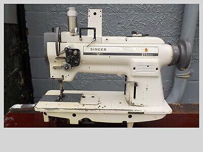 Industrial Sewing Machine Model Singer 211-a1121k Single Walking Foot- Leather