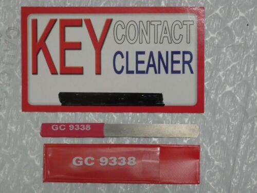 """Contact Burnishing Tool, GC Electronics 9338, 1/4"""" wide, ships fast from Alabama"""