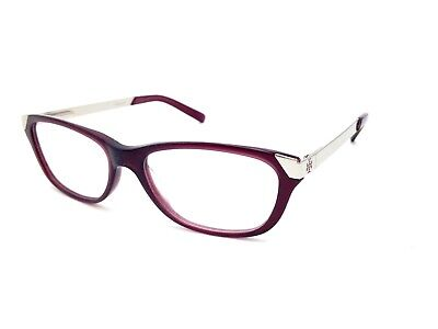 $300 TORY BURCH WOMENS PURPLE EYEGLASSES FRAMES GLASSES OPTICAL EYE LENS TY 2005