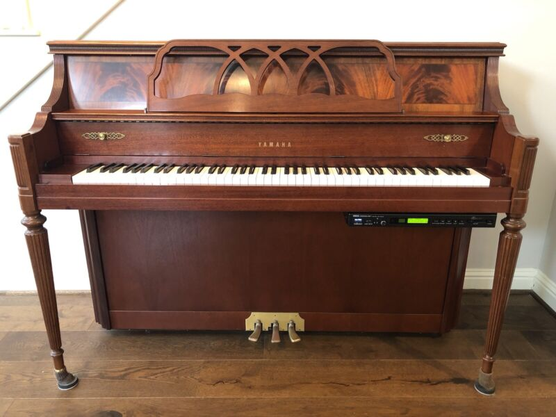 Yamaha Disklavier Player Piano Upright MX85 - Good Condition, USB Controller