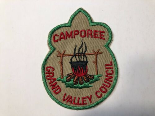 BSA Grand Valley Council Camporee Patch  *Boy Scouts of America*
