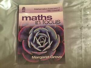 Brand new hsc maths ext maths in focus textbook Hornsby Hornsby Area Preview
