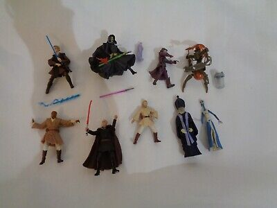 STAR WARS hasbro figures collectable 2000s - set of 9