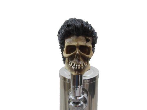 Custom Beer Tap Handle Greaser Elvis Skull Kegerator Brewery Bar Rockabilly New
