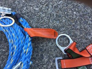 Safety Harness and 50' Lifeline