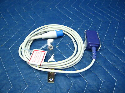 Philips Spo2 Preamp Extension Cable 8 Pin Made Usa 1 Year Warranty Oximax Mp