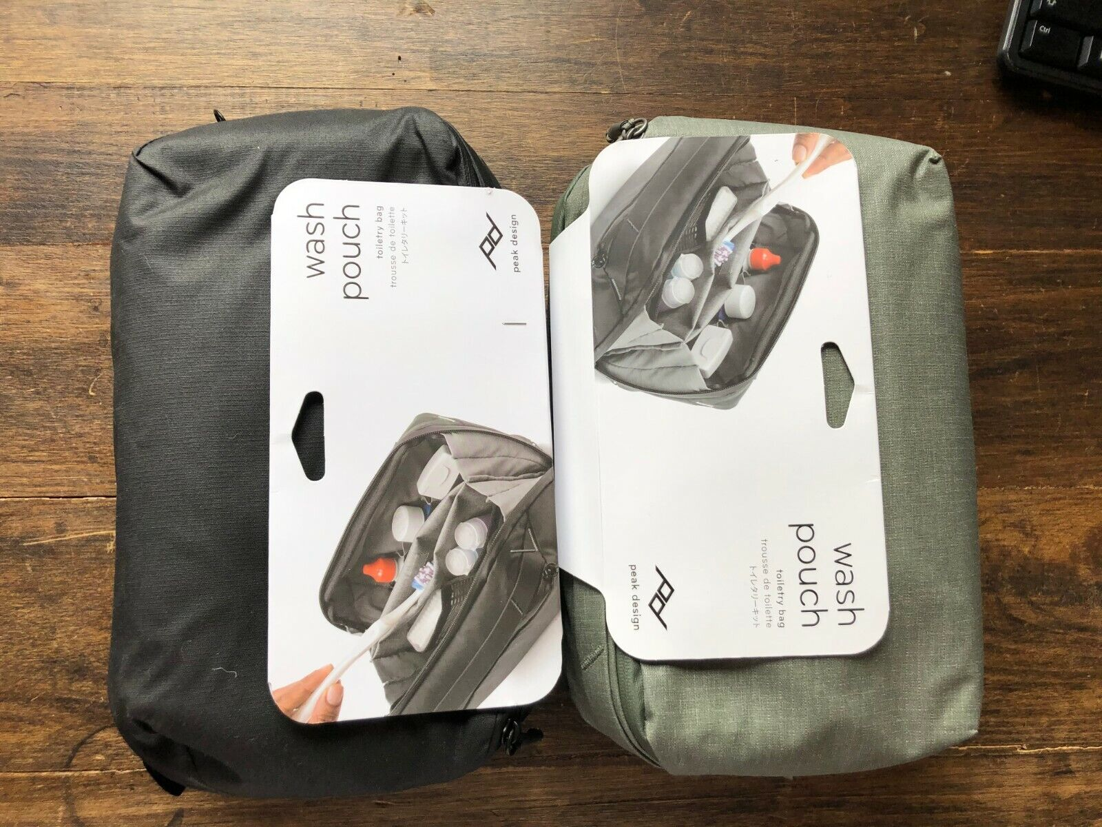 Peak Design Wash Pouch Dopp Kit Ditty Bag Toiletry Bag - $85.00