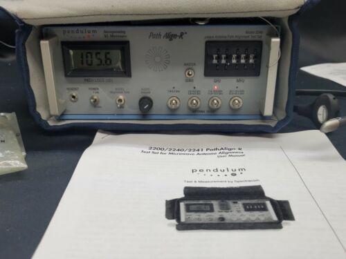Pendulum Spectracom 2240 Path Align-R Antenna Pat Alignment Test Set