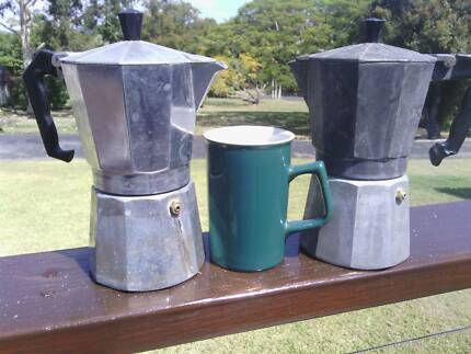Espresso Stovetop coffe maker 9 cups $10 for one $15 for both
