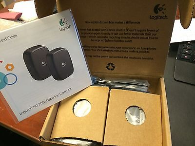 Logitech HD Powerline 200a 200 Starter Kit P/N 930-000131 New