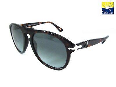 a549e7e347 Occhiale sole Persol 649 Colore 24 86 54 Havana 0649 2486 Sunglass  Sonnenbrille