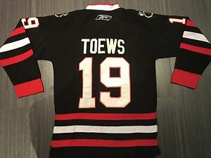 Reebok Jonathan Toews Chicago Blackhawks Youth Jersey 195af7e66