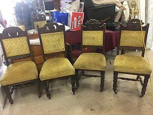 Antique Dining Chairs Bendigo Bendigo City Preview
