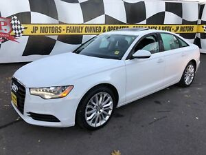 2014 Audi A6 3.0L Technik, Navi, Leather, Sunroof, Diesel, AWD