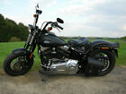 Harley-Davidson FLS Cross Bones Twin Cam 96b Test