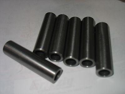 "Steel Bushing  / Sleeve 3/4"" OD x 1/2"" ID x 6 1/2"" Long 2 Pcs  CDS DOM"