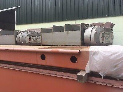 3525 Ton Twin Detroit Hoist Overhead Bridge Crane Components
