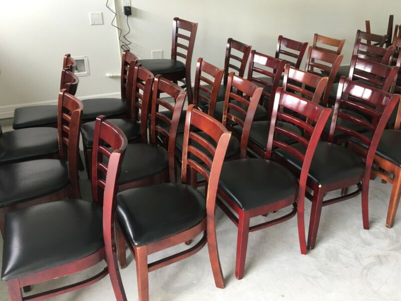 Used Restaurant Wooden Chairs