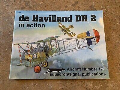 DE HAVILLAND DH 2 IN ACTION - SQUADRON/SIGNAL AIRCRAFT IN ACTION 171 De Havilland Aircraft