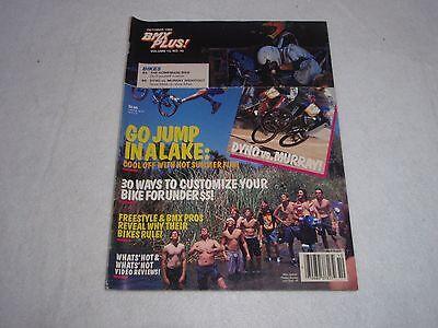 6 VINTAGE ORIGINAL BMX PLUS JUNE 1990 MAGAZINE VOLUME 13 NO