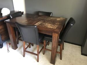 """Table and Chairs, 36"""" high"""