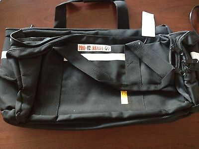Emt Ems Medical Pro 02 Ready Go Bag Medic Trauma Bandage Paramedic Bag W Sling
