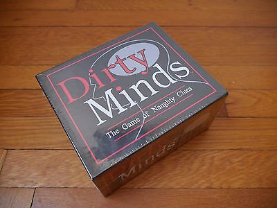 NEW Dirty Minds Board Game--Great for Bachelorette Parties UNOPENED (Dirty Board)