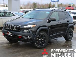 2016 Jeep Cherokee Trailhawk 4X4 | HEATED/COOLED LEATHER | NA...
