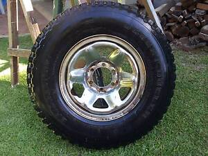 Toyota 7.50 x 16 wheel - tyre on rim. Nambour Maroochydore Area Preview