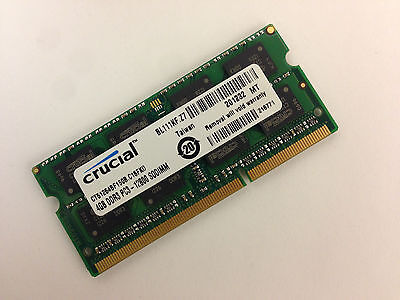 Crucial 4Gb Ddr3 1600 Mhz Pc3 12800 1 35V Laptop Ram Sodimm Memory Ddr3l 1600 4G