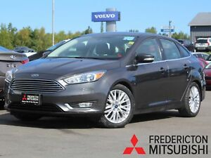 2015 Ford Focus Titanium REDUCED | HEATED LEATHER | NAV | BAC...