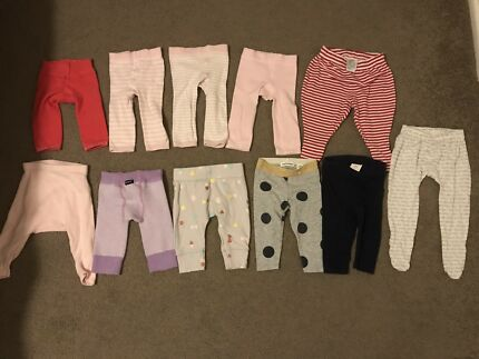 Baby girl legging bundle