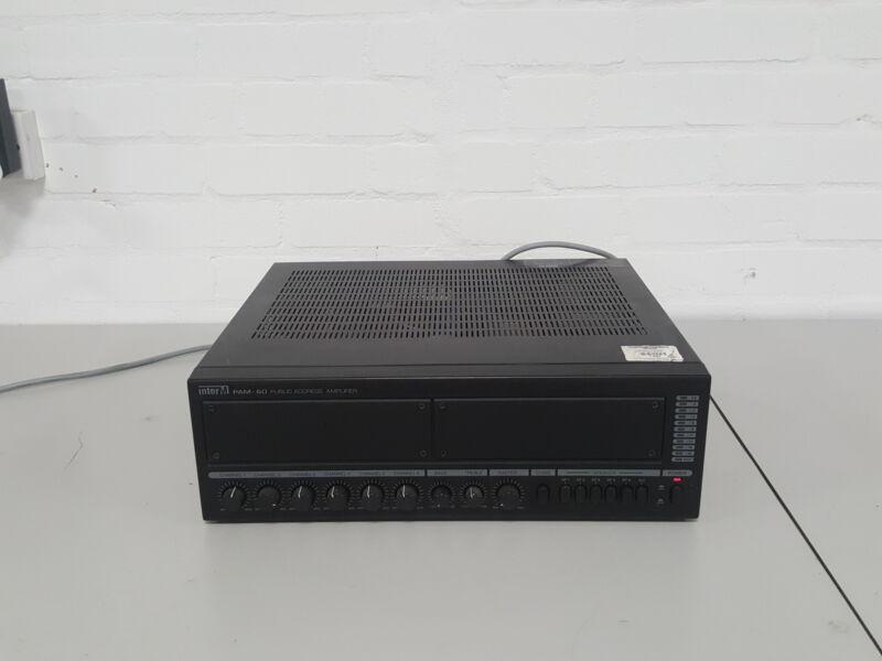 Inter-M PAM 60 Public Address Amplifier PAM