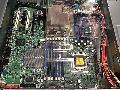 Supermicro X8DTI-F Motherboard LGA1366 2x E5620 2xHeatsink 1x I/O Shield IPMI