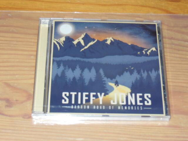 STIFFY JONES - NARROW ROAD OF MEMORIES / ALBUM-CD 2016 OVP! SEALED!