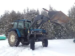 Ford 7840 Loader Tractor