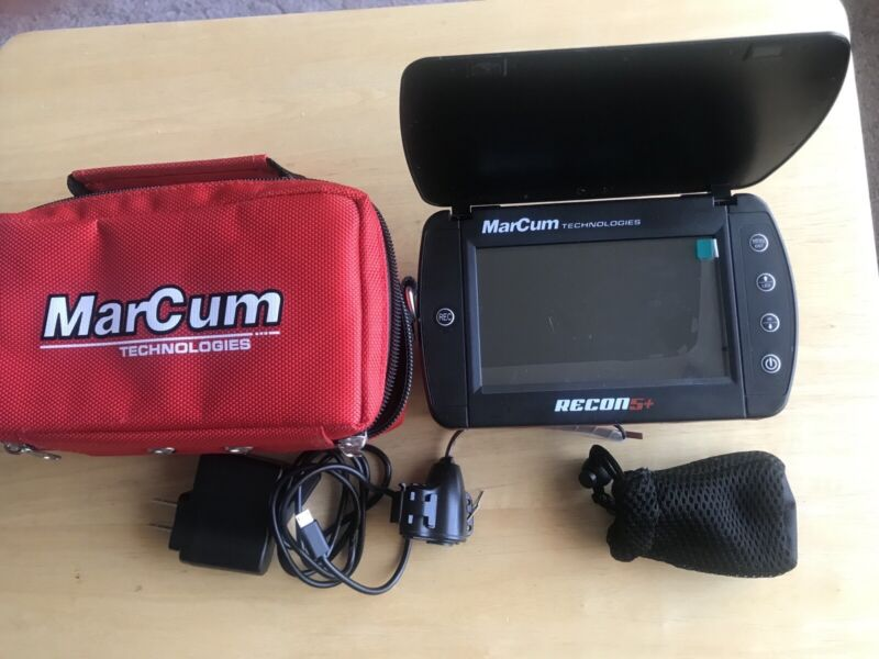 Marcum Recon 5 Plus + Underwater Viewing System with Built-in DVR