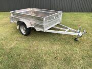 8x5 Aluminium High Side Trailer Medowie Port Stephens Area Preview