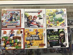 Mario Games  3DS Games