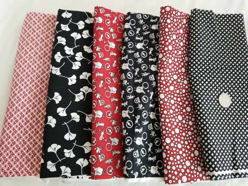 Everything But the Kitchen Sink RJR Feedsack Reproduction Fabric Cotton LOT 4YDS