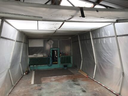 Spray paint booth  Morwell Latrobe Valley Preview