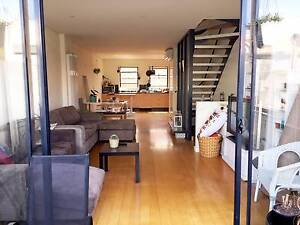 A private ensuite for a couple in a Sunny Triple Story Townhouse Abbotsford Yarra Area Preview