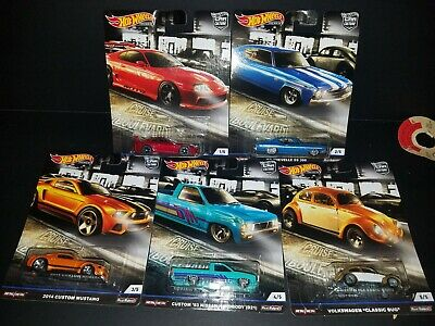 Hot Wheels Premium Car Culture Cruise Boulevard Full Set Of 5