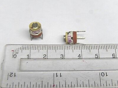 Radial Ceramic Military Trimmer Variable Capacitor 7-30pf Lot Of 10 Pcs.