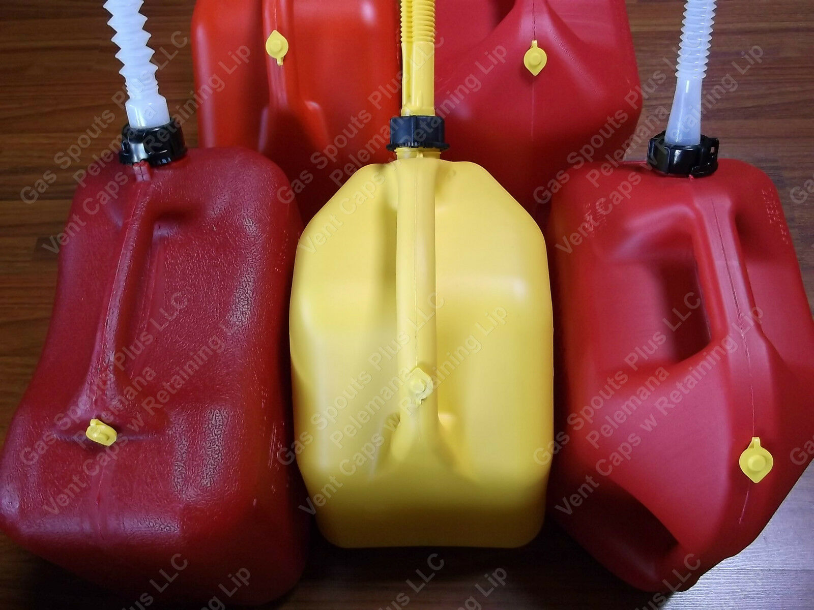 10 New Yellow VENT CAPS Gas Fuel Can Midwest Blitz Scepter Ameri-can HEAVY DUTY