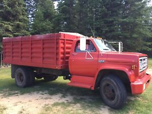 1974 GMC 6000.  3 ton Grain Truck with 27,165 original miles.
