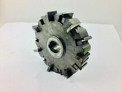Lovejoy 8 Horizontal Milling Cutter 1-12 Arbor With 14 Good Carbide Insert